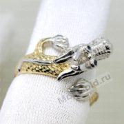 Эксклюзивное кольцо в виде дракона