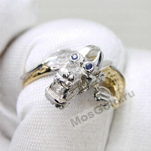 ювелирная мастерская: Эксклюзивное кольцо в виде дракона