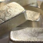 Слитки чистого серебра