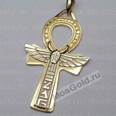 Золотой крестик Анкх
