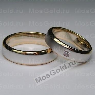 Матовые обручальные кольца