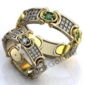 Эксклюзивные подвижные кольца
