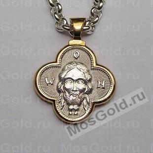 Иконка Спаситель из золота