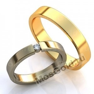 Золотые обручальные кольца
