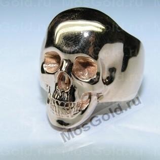 Перстень череп