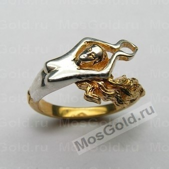 Золотое кольцо девушка