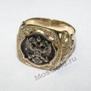 Перстень с двуглавым орлом и бриллиантами