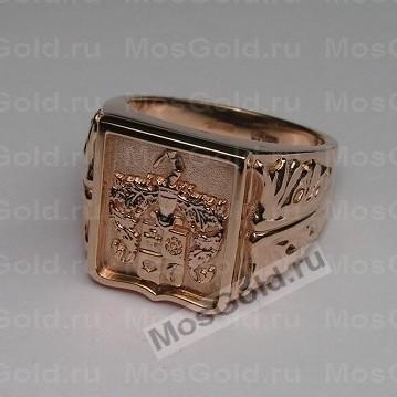 Перстень фамильный герб