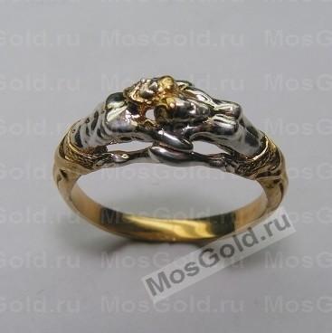 Кольцо с мужчиной и женщиной