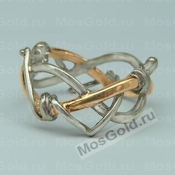 Кольцо из золотой проволоки