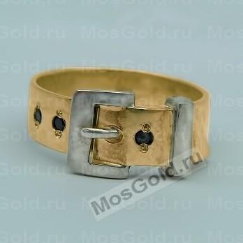 Эксклюзивное кольцо ремень