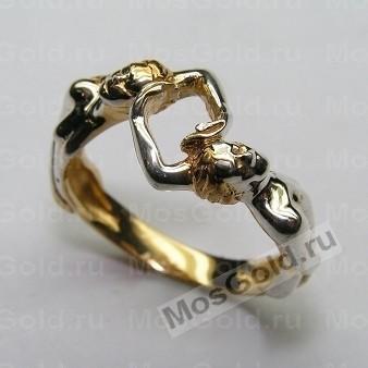 Золотое кольцо скульптура