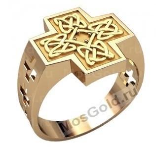 Перстень мужской славянский