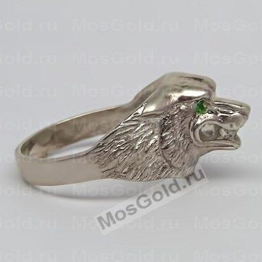 Мужское кольцо с волком