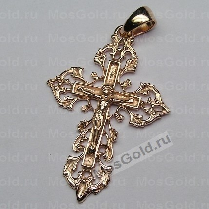 Крест ажурный