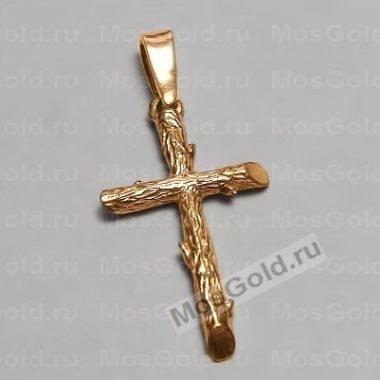 Крест с веточками