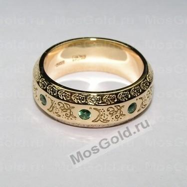 Мужское кольцо с орнаментом