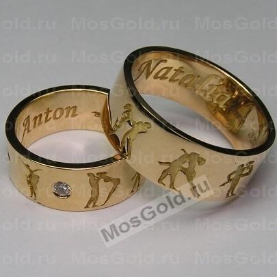 Эксклюзивные обручальные кольца «Камасутра»