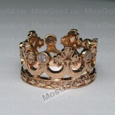 Обручальные кольца с короной
