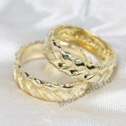 Обручальные кольца плетёнки