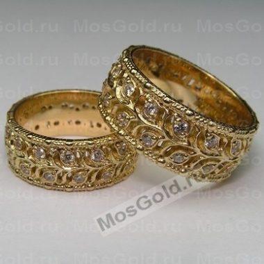 Кольца из жёлтого золота 585