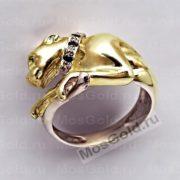 Эксклюзивное кольцо с пантерой