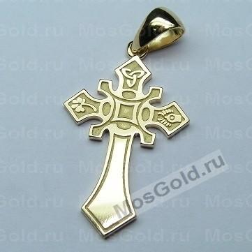Золотой Египетский крестик