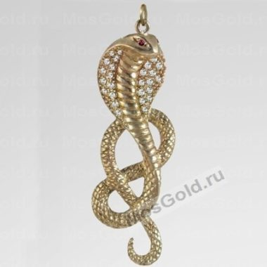 Кулон змея кобра