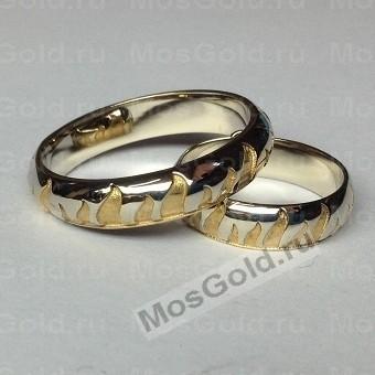 Обручальные кольца огонь