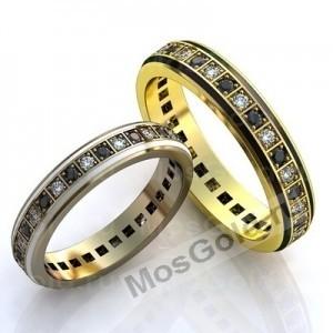 Кольца с сапфирами и бриллиантами