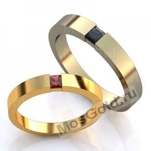 Классические кольца с камнями