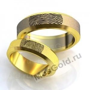 Кольца с отпечатками пальцев