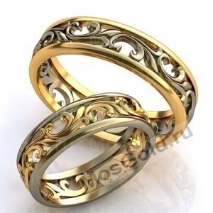 Элегантные обручальные кольца