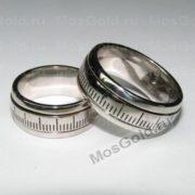Обручальные кольца с замком