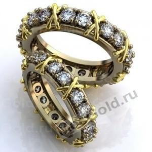 Брендовые обручальные кольца