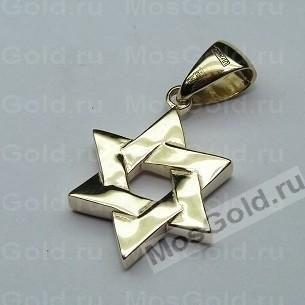 Подвеска Маген Давид золото