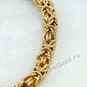 Цепочка и браслет плетение Королевское 4,6 мм