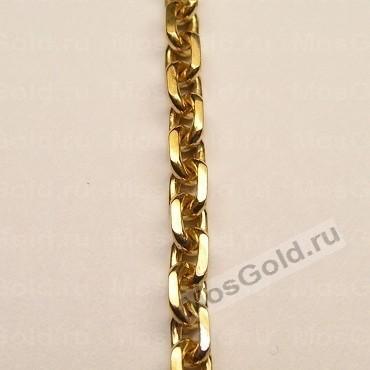 золотая цепочка женская якорное плетение