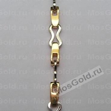 Цепочка золотая византийское плетение