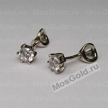 ювелирная мастерская: Небольшие золотые гвоздики с бриллиантами
