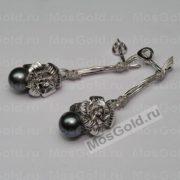 Эксклюзивные серьги Tiffany с жемчугом