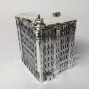 Здание серебро