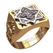 Мужское кольцо православное
