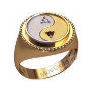 Китайское кольцо Инь и Ян