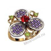 Золотое кольцо клевер