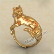 Фото модели кольца пантеры