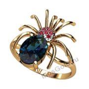 Золотое кольцо паук