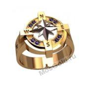 Кольцо компас