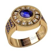 Перстень с бриллиантами