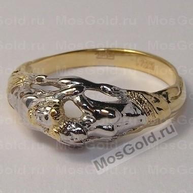 Кольцо из золота мужчина и женщина